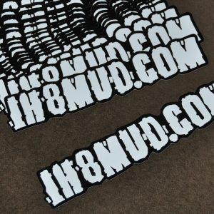 IH8MUD.COM Sticker