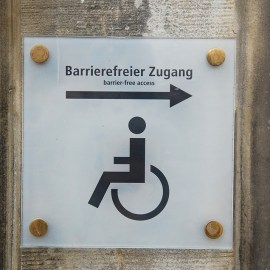 Barrierearme Badezimmer