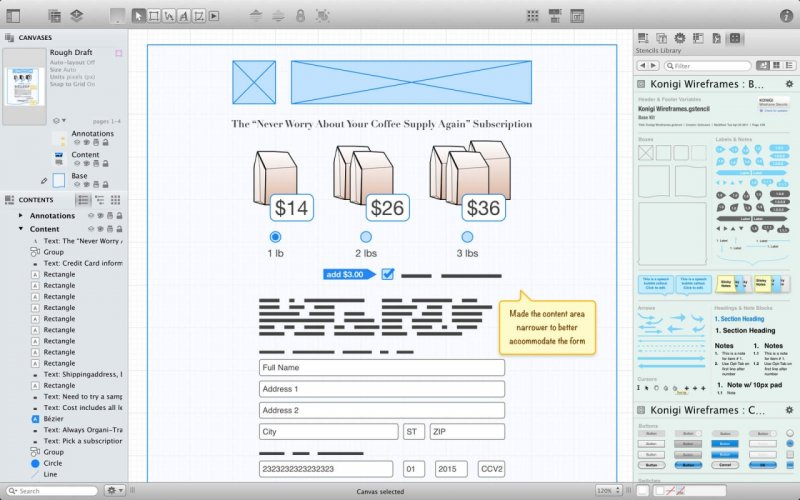 Omnigraffle 6 the best diagramming app for os x ihash need a diagram process chart quick page layout website wireframe or graphic design omnigraffle can help you make eye popping graphic documents quickly ccuart Gallery