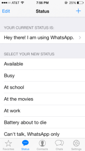 WhatsApp Messenger is Updated With New iOS 7 User Inte1