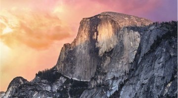 New OS x 10.10 Yosemite Wallpaper