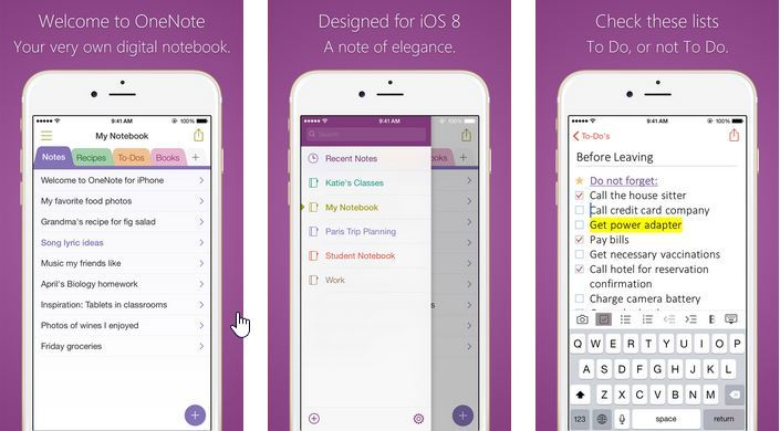 Microsoft OneNote for iPhone Now Supports Background Sync - iHash