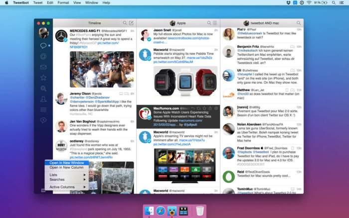 Tweetbot 2 App for OS X Yosemite 2