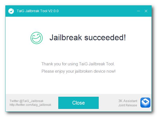 taig jailbreak tool 5