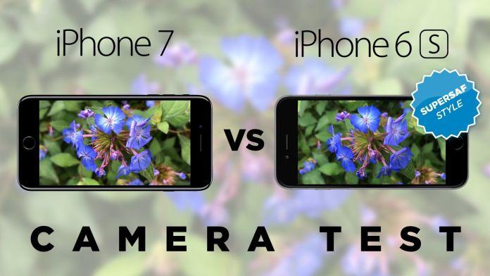 iPhone 7 vs 6S Camera Test Comparison