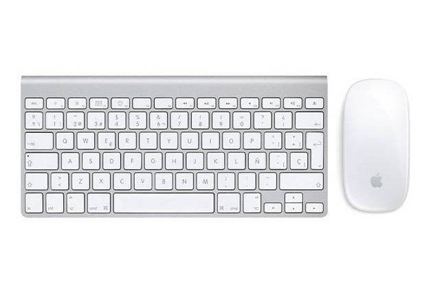 Apple Wireless Magic Mouse + Keyboard Set (Renewed) for $79
