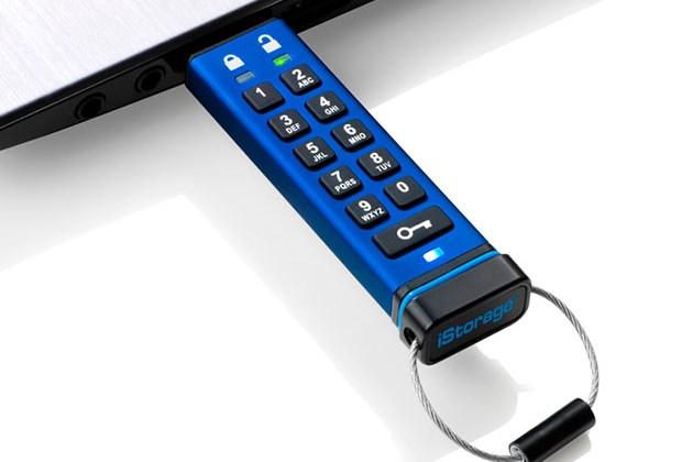 datAshur® PRO 256-bit Encrypted USB 3.0 Flash Drive for $70