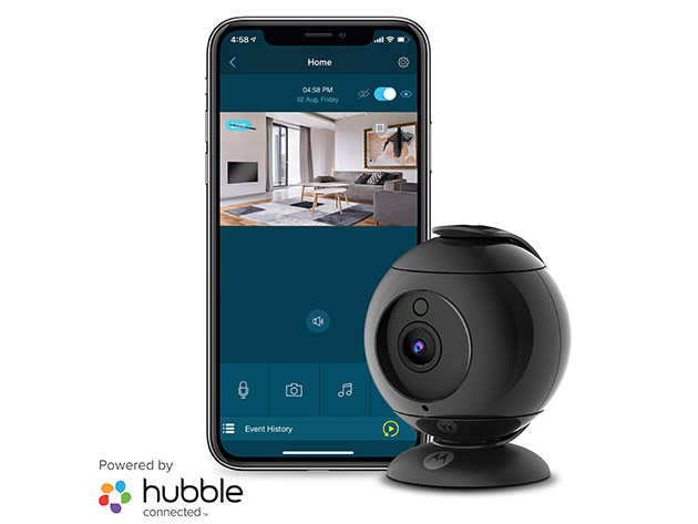 Motorola FOCUS89 Full HD Wi-Fi Indoor Camera for $42