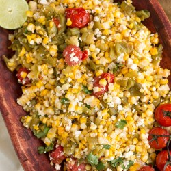 hatch chile corn salad