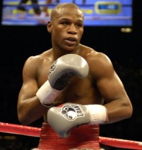 Sounds like boxer Floyd Mayweather has taken too many punches to the head