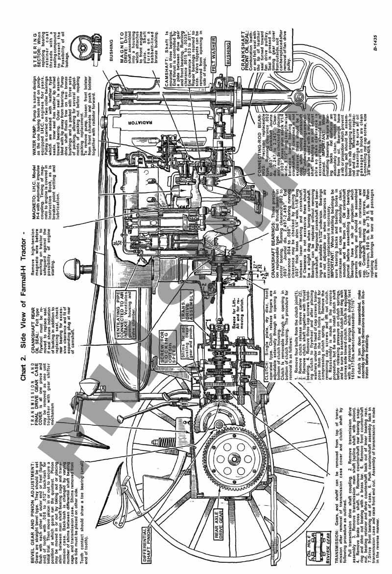 1942 Farmall H Wiring Diagram B