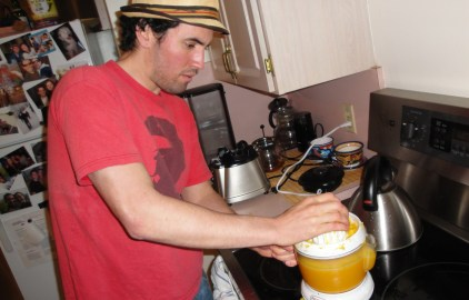 Making Orange Juice for Colitis
