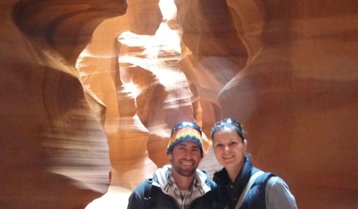 Antelope Canyon is pretty trippy once again.  this is actually a canyon that has been carved out by running water over the many many many years.  The Navajo give guided tours up the canyon (not cheap) but it was highly recommened by my immunologist buddy and his immunologist wife in San Diego so we hit it up.  And happy we did.  We took hundreds of pictures, some came out, others didn't, but worth the 2 hour tour for sure. (Just outside of Page, Arizona