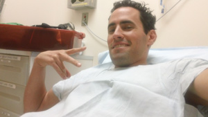before getting colonoscopy