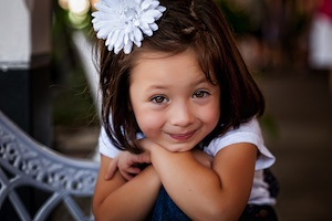 Rylie the little girl from Texas with ostomy