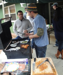 BBQ party with friends