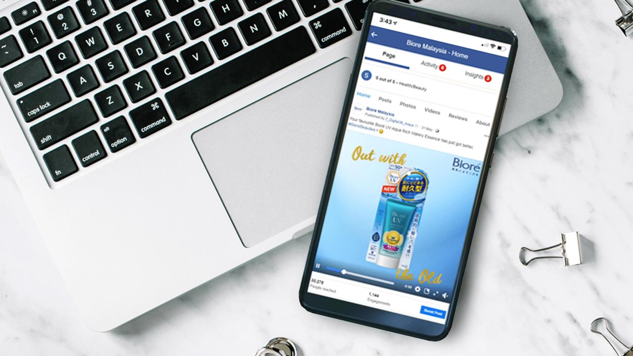 Biore-Digital-Marketing-Product-Launch