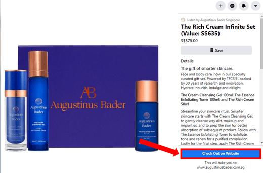 การตลาดโซเชียลคอมเมิร์ซ Augustinus-Bader-Facebook-Shops