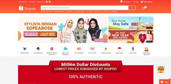 Shopee-online-store