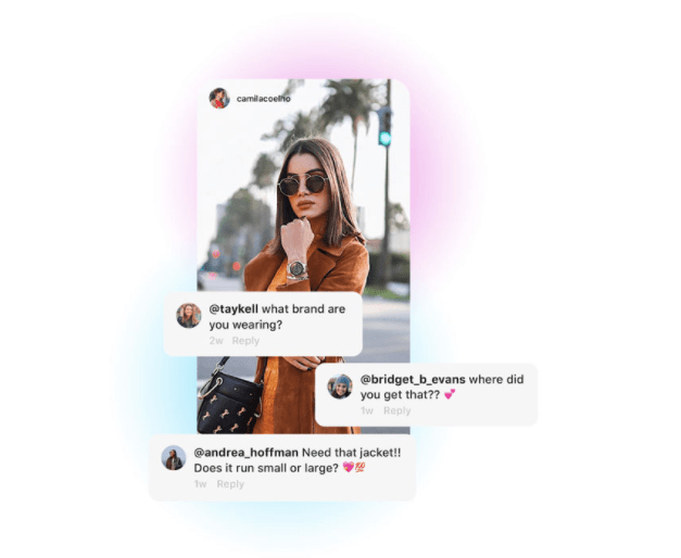 Screen-Shot Instagram Shopping