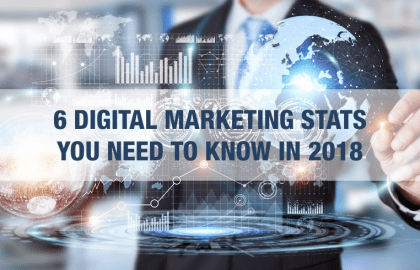 6 DIGITAL MARKETING STATS YOU NEED TO KNOW IN 2018