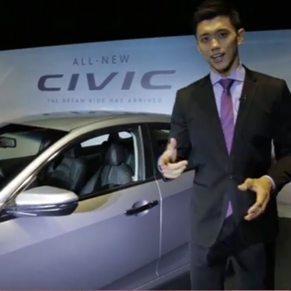 Facebook Live Video for Honda The All-New Civic Launch - Creative Services