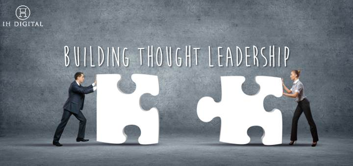 Thought leadership building through social media