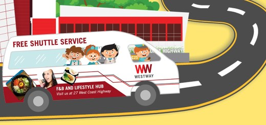 With the help of a digital marketing agency, Westway Singapore launches a GIF to promote their free shuttle services as a social media marketing campaign.