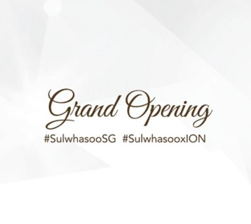 Social Media Marketing - Sulwhasoo Singapore - ION Orchard opening