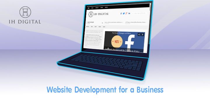 Website development is a must for your business as it allows consumers to find you online as well as allows you to be found online.