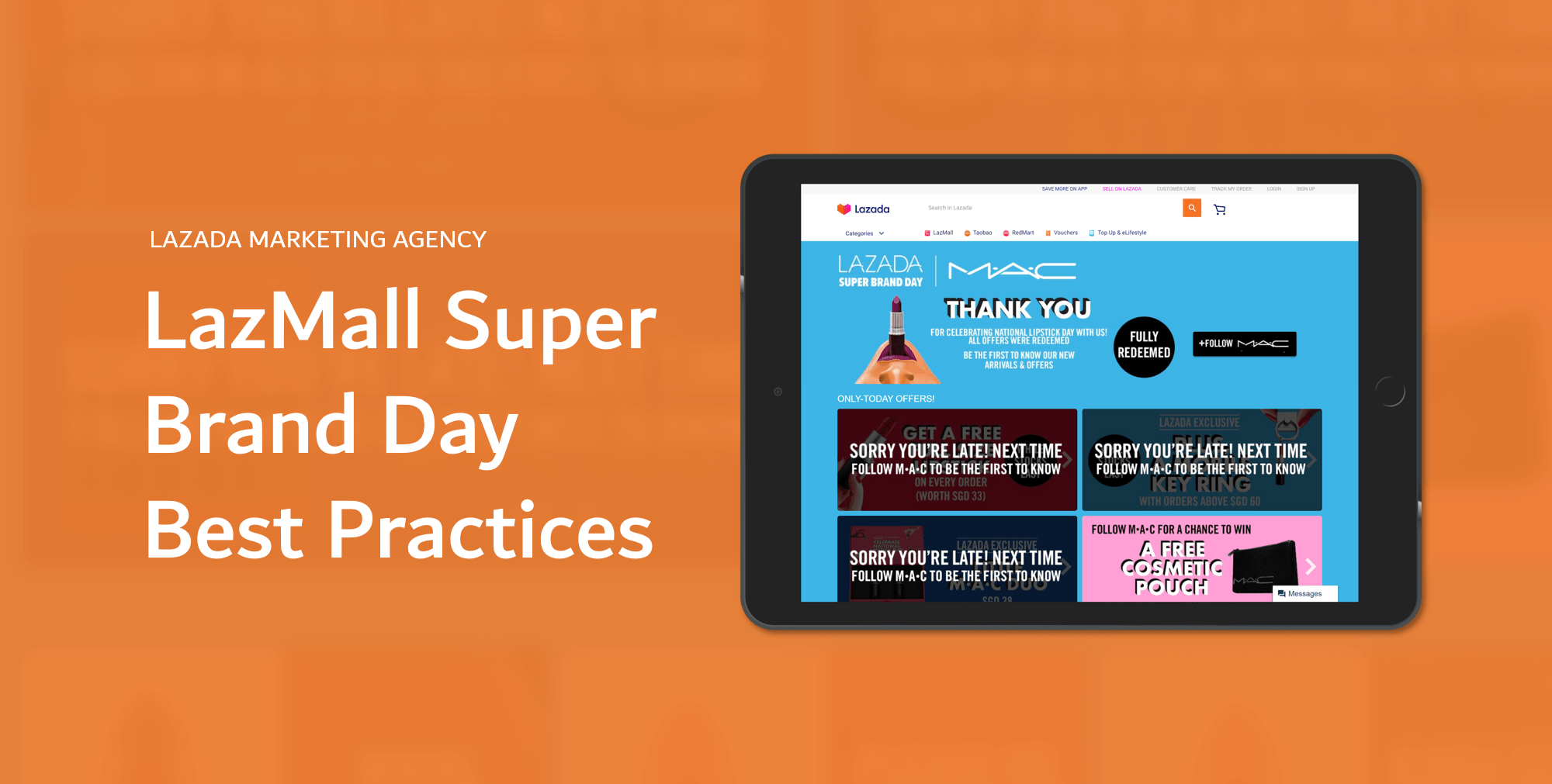 Lazada Campaign - Super Brand Day Best Practices 2020