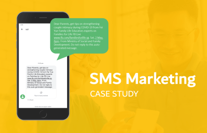 SMS Marketing by MSF Families for Life - Digital Marketing Agency Singapore