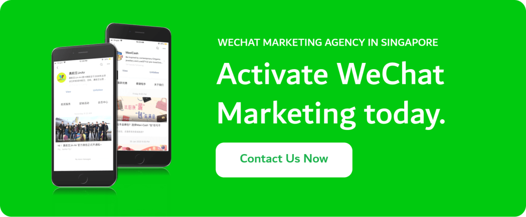 WeChat Marketing Agency in Singapore - Get Started with WeChat