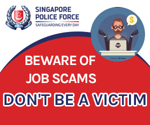 Singapore Police Force's Anti-Scam Campaign