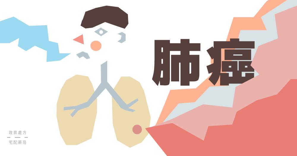 肺部出現汙點的人型