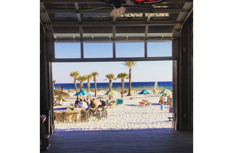 pensacola landshark bar and beach
