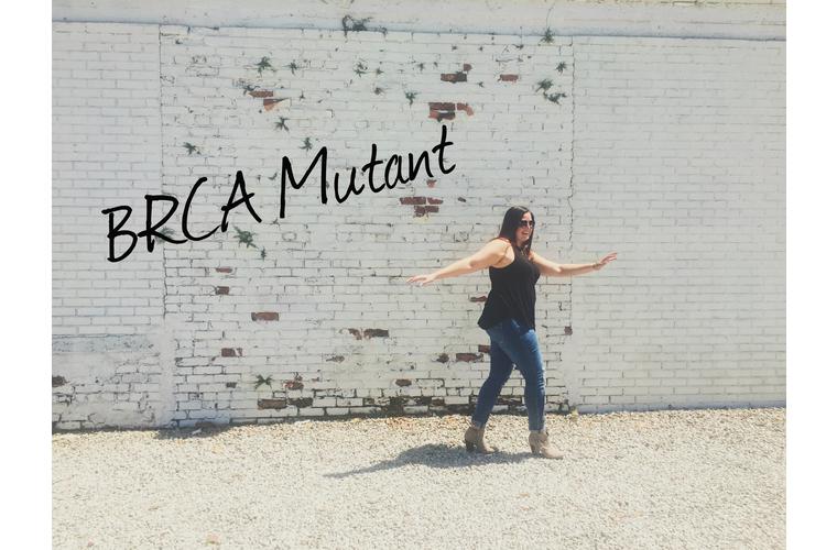 mackenzie walking unbalance with brca mutant text