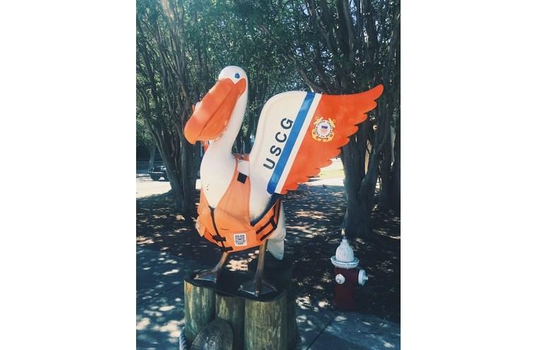 Military USCG Pelican Pensacola Florida