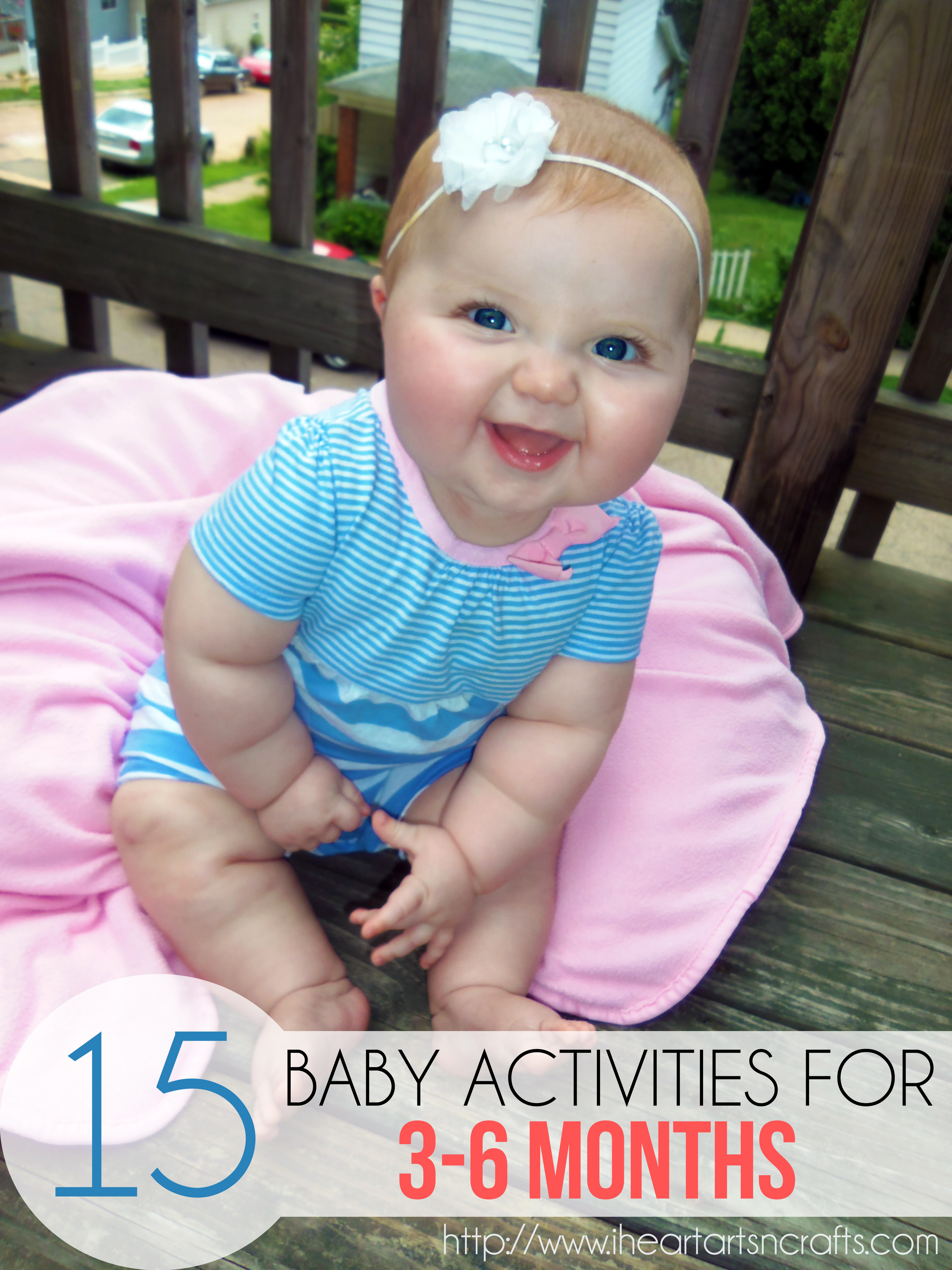 15 Baby Activities For 3 6 Months