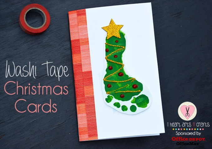 kids holiday work i heart arts n crafts - Office Depot Christmas Cards
