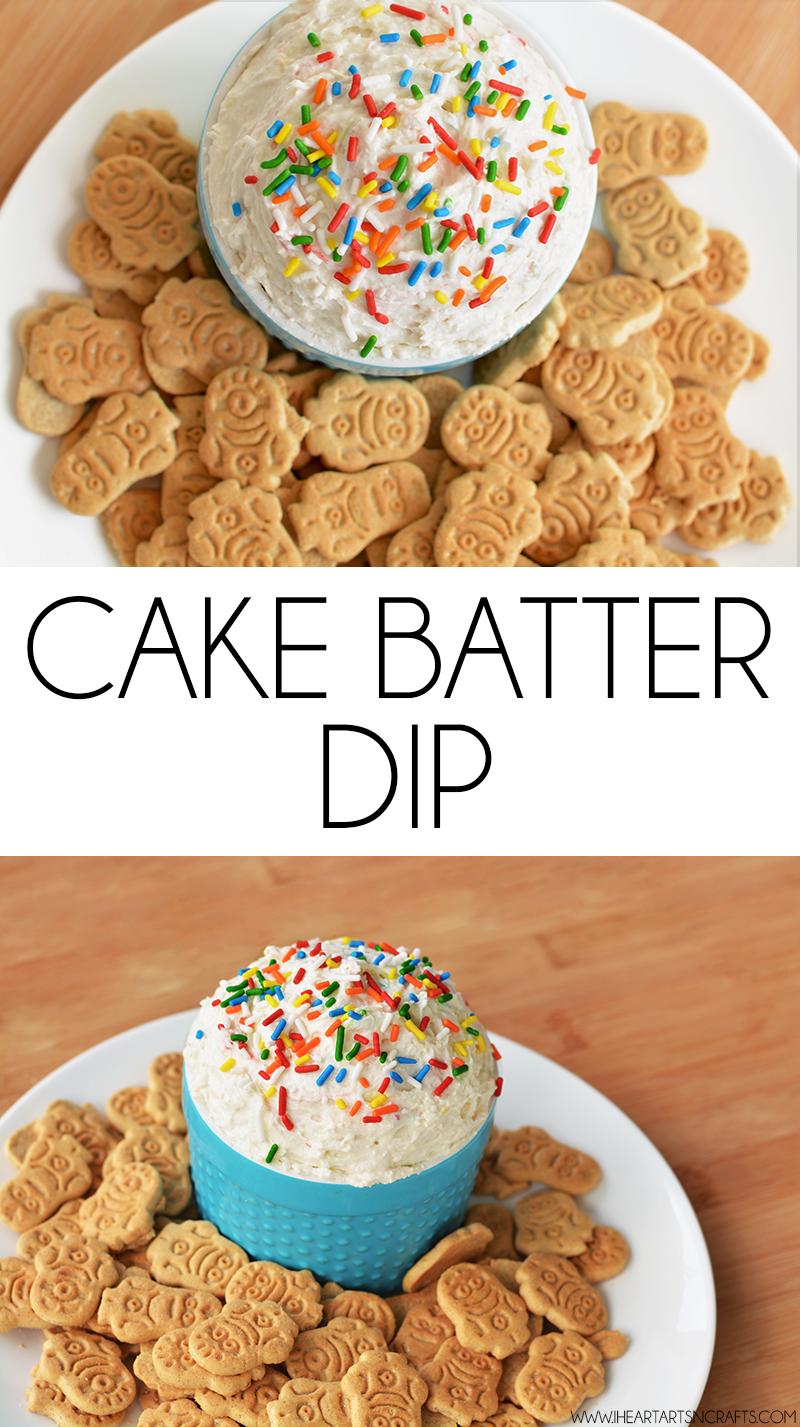 Cake Batter Dip I Heart Arts N Crafts