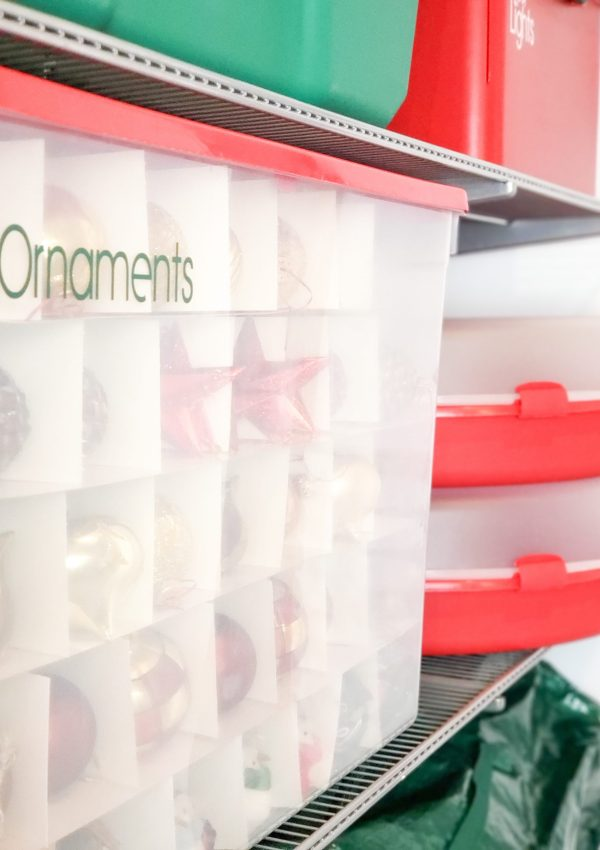 Un-decking the Halls: 5 Tips for Holiday Decor Storage