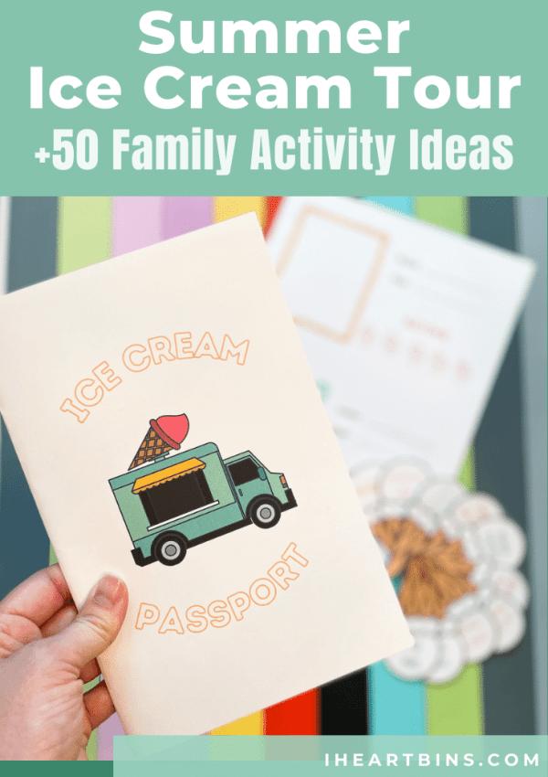 Summer Ice Cream Tour +50 Family Activity Ideas