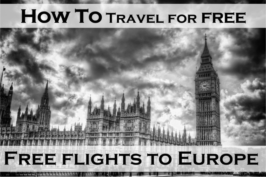 Travel For Free - Flights To Europe