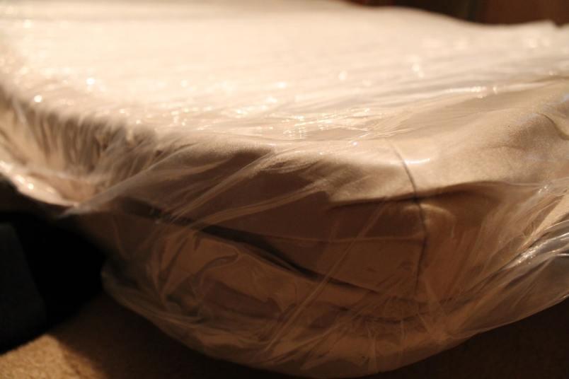 Memory Foam mattress In Plastic