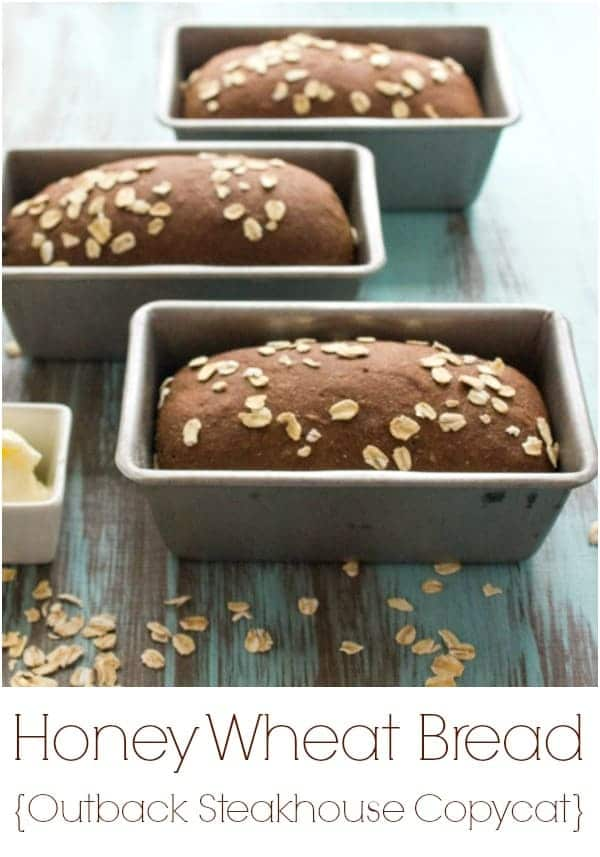 Outback Steakhouse Copycat Honey Wheat Bread