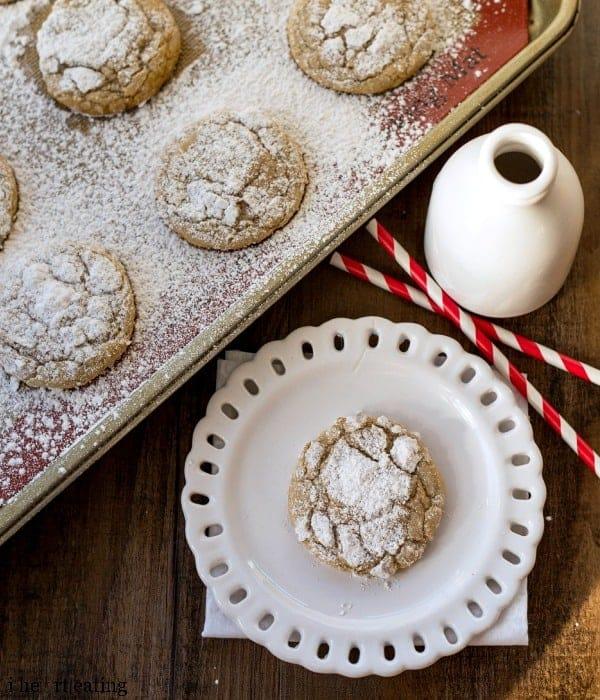 Cinnamon Sugar Crinkle Cookies