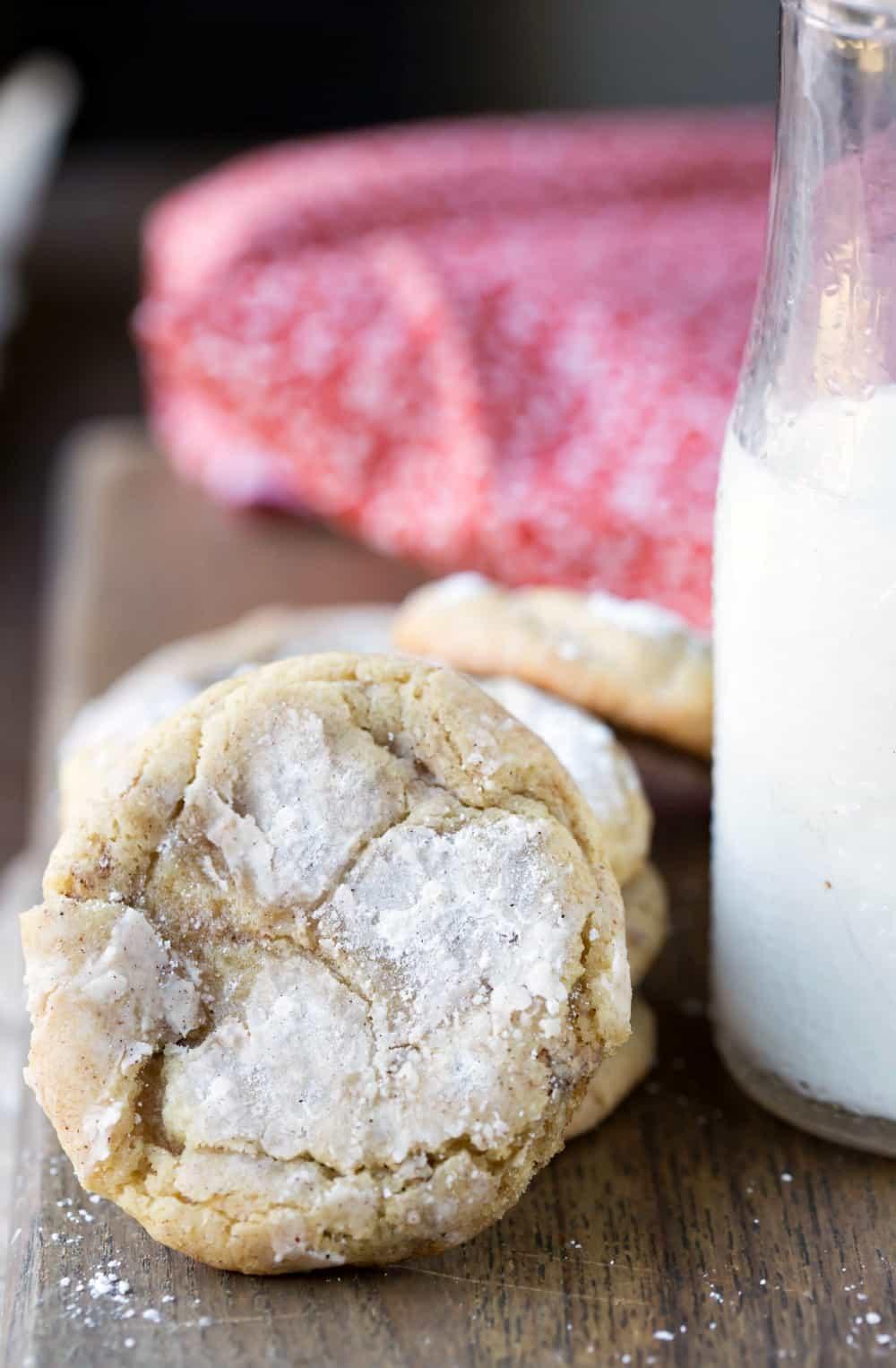 Cinnamon-Sugar Crinkle Cookies