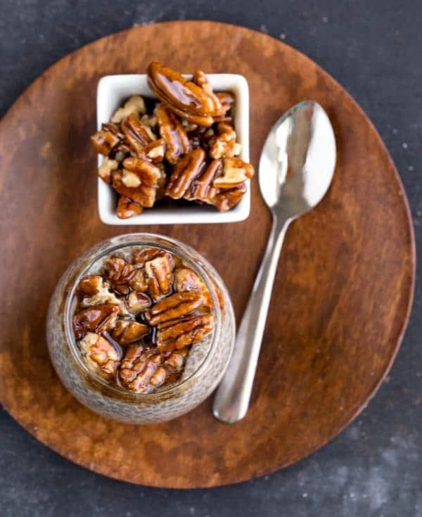Sticky Bun Chia Seed Pudding